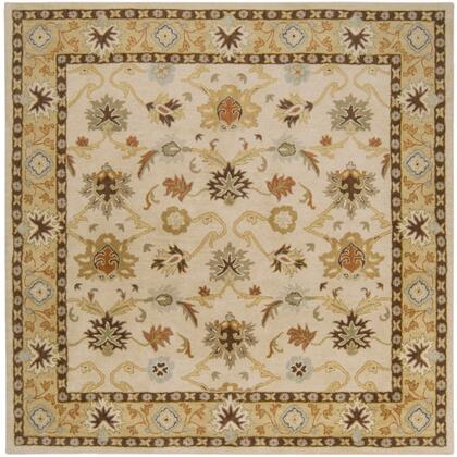 Caesar CAE-1010 6' Square Traditional Rug in