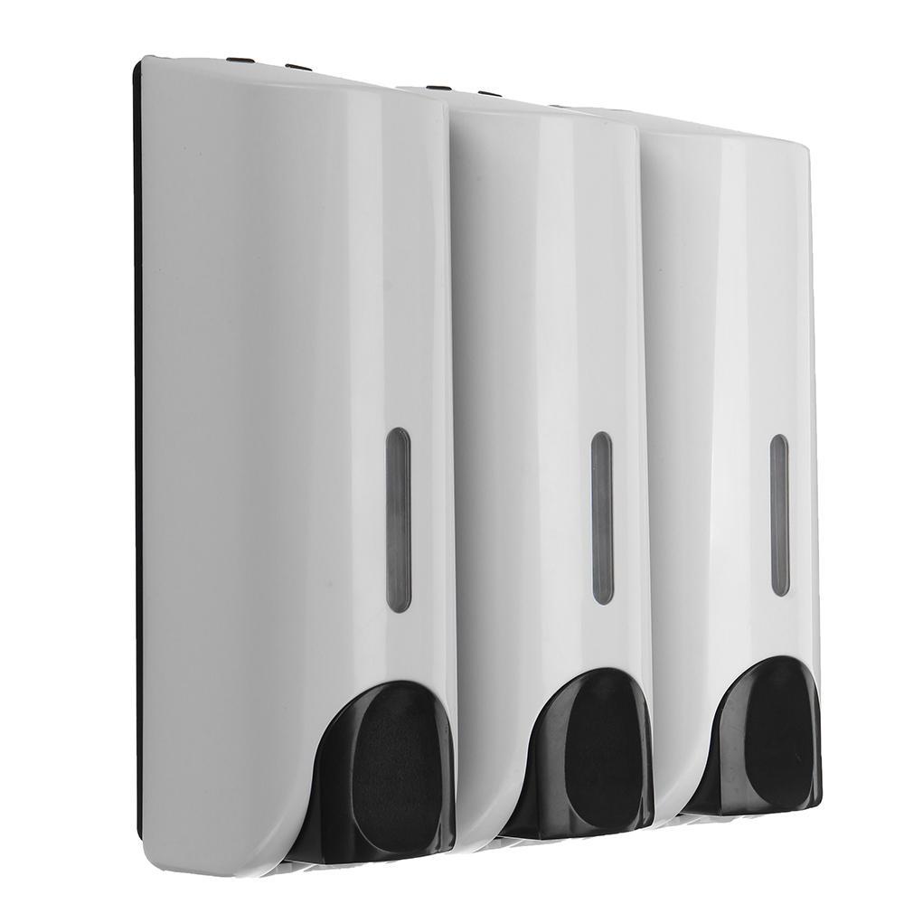 3Pcs/Set 350ml Bathroom Shower Gel Body Lotion Conditioner Shampoo Soap Dispenser