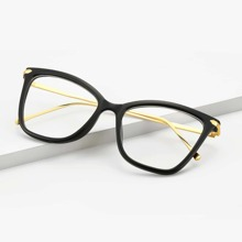 Maenner Brille mit Katzen Augen Design