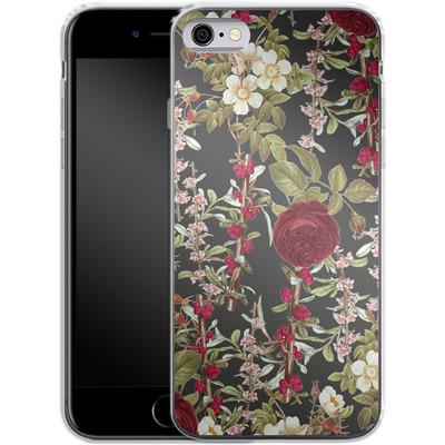 Apple iPhone 6 Silikon Handyhuelle - Floral Explorer von Zala Farah