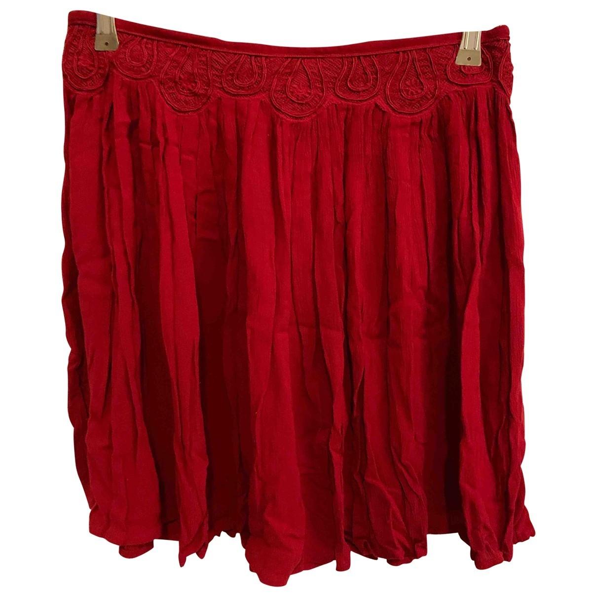 Zara \N Rocke in  Rot Baumwolle