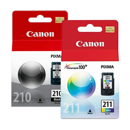 Canon PIXMA MX420 Original Ink Cartridges Black & Colour Combo, 2 pack - Standard Yield