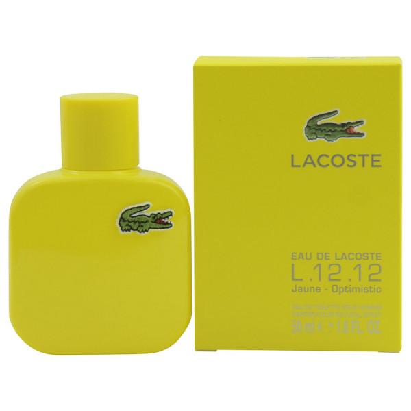 Eau De Lacoste L.12.12 Jaune - Lacoste Eau de Toilette Spray 50 ML