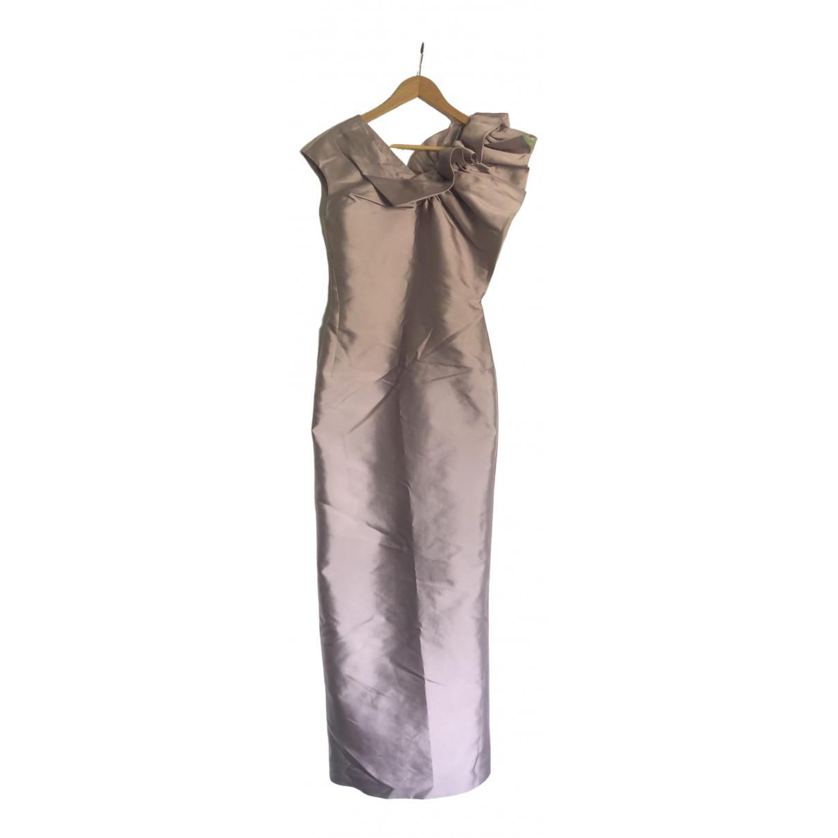 Viktor & Rolf \N Purple Silk dress for Women 40 IT