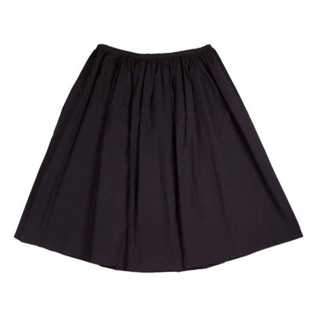Non Signé / Unsigned \N Anthracite Cotton skirt for Women L International