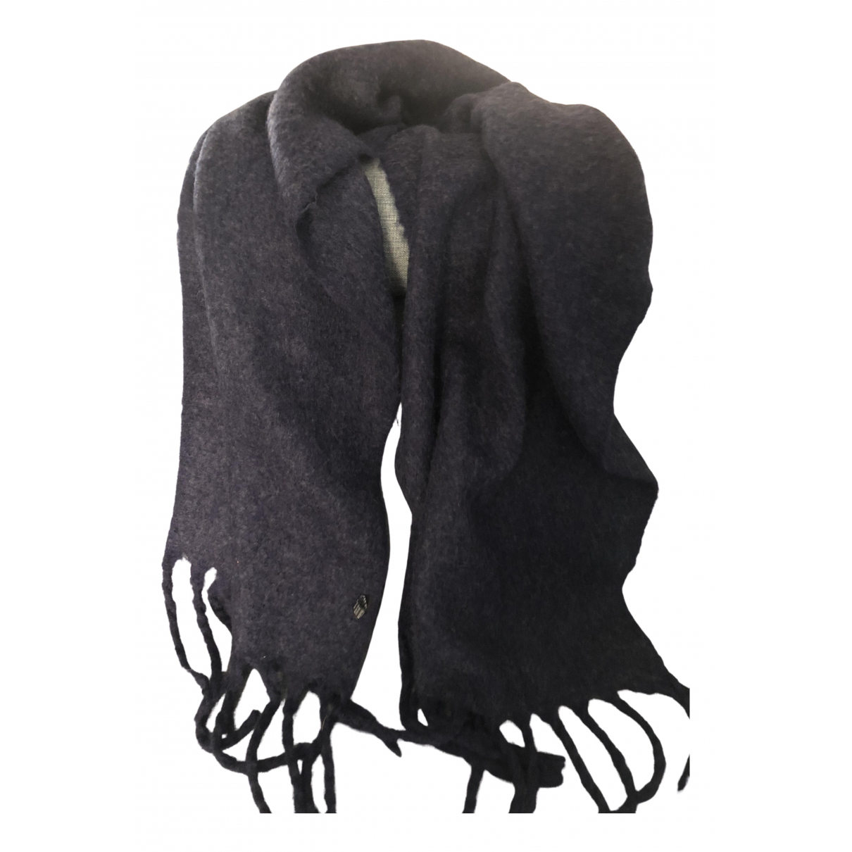 Non Signé / Unsigned N Blue Wool scarf for Women N