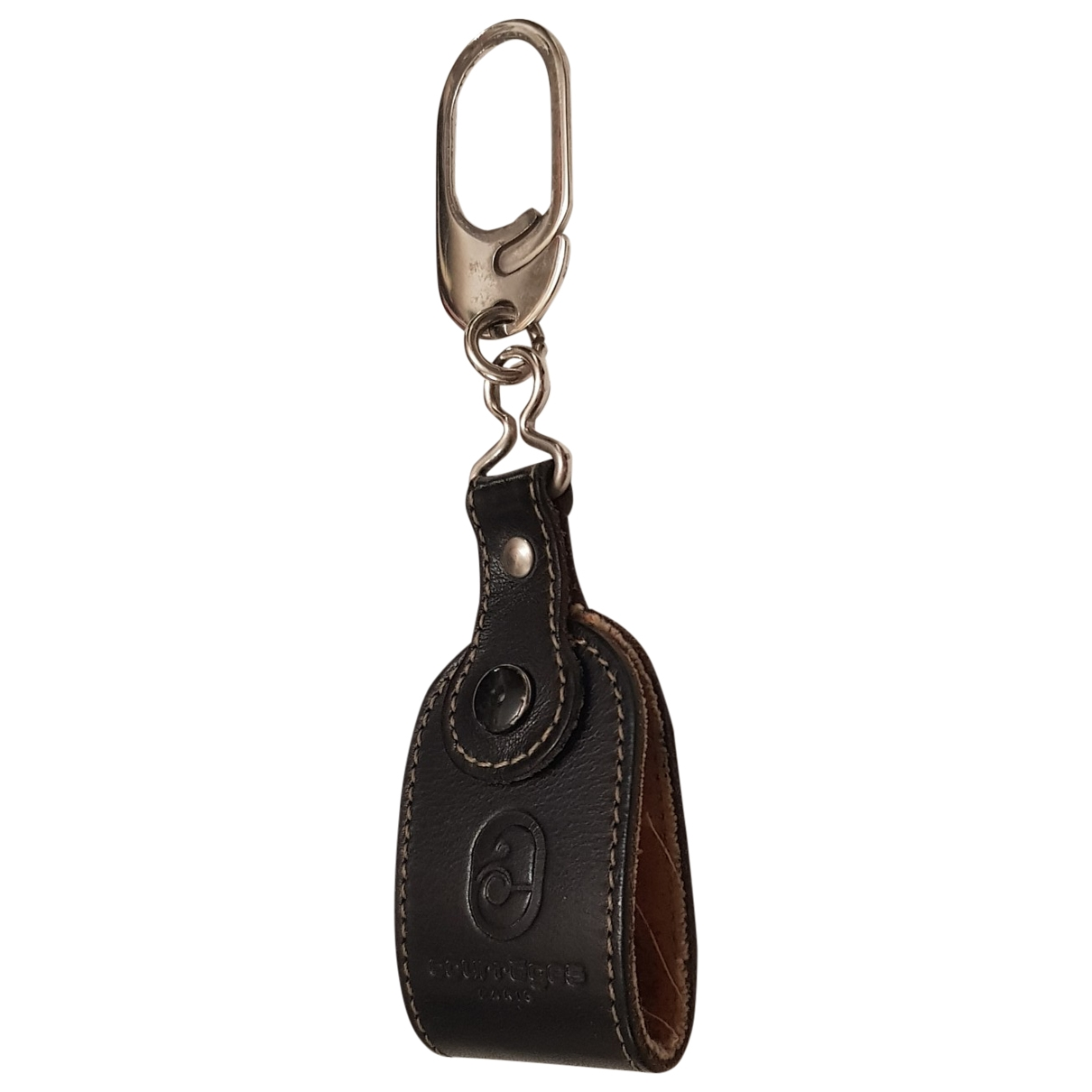 Courreges - Petite maroquinerie   pour homme en cuir - noir