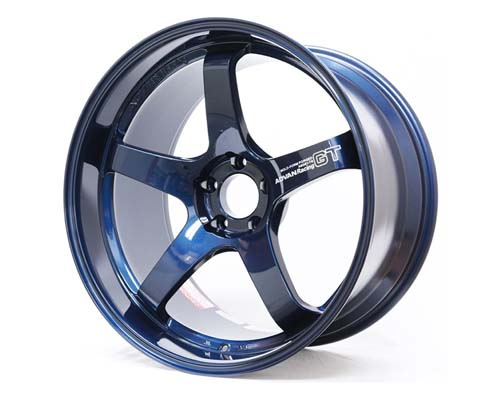 Advan GT Premium Wheel 21x9.5 5x112 26mm Racing Titanium Blue