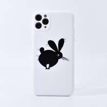 iPhone Schutzhuelle mit Hase Muster