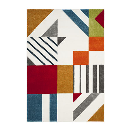 Safavieh Hollywood Collection Kyler Abstract Area Rug, One Size , Multiple Colors