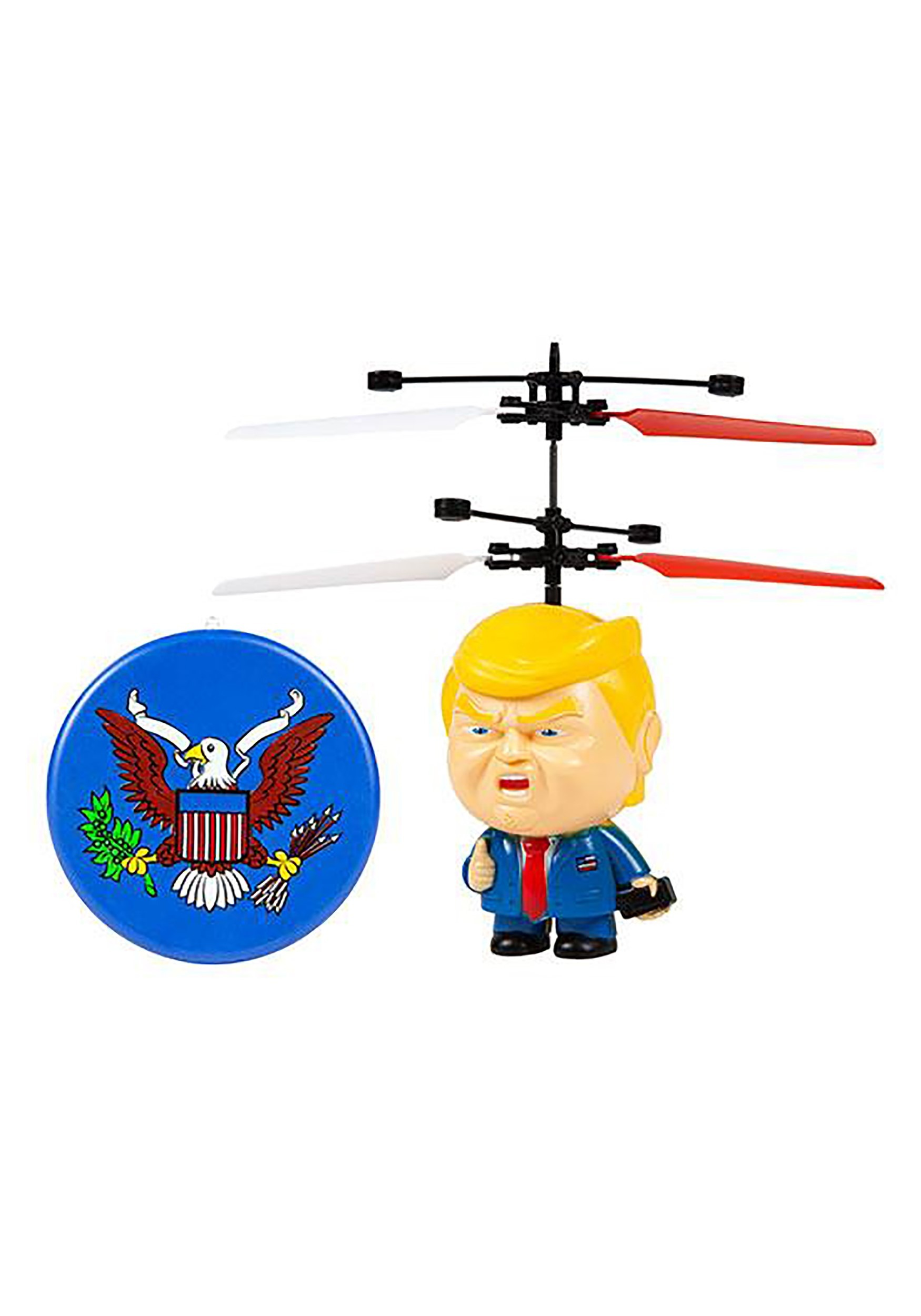 Donald Trump Motion Sensing 3.5 Inch UFO Remote Control Helicopter