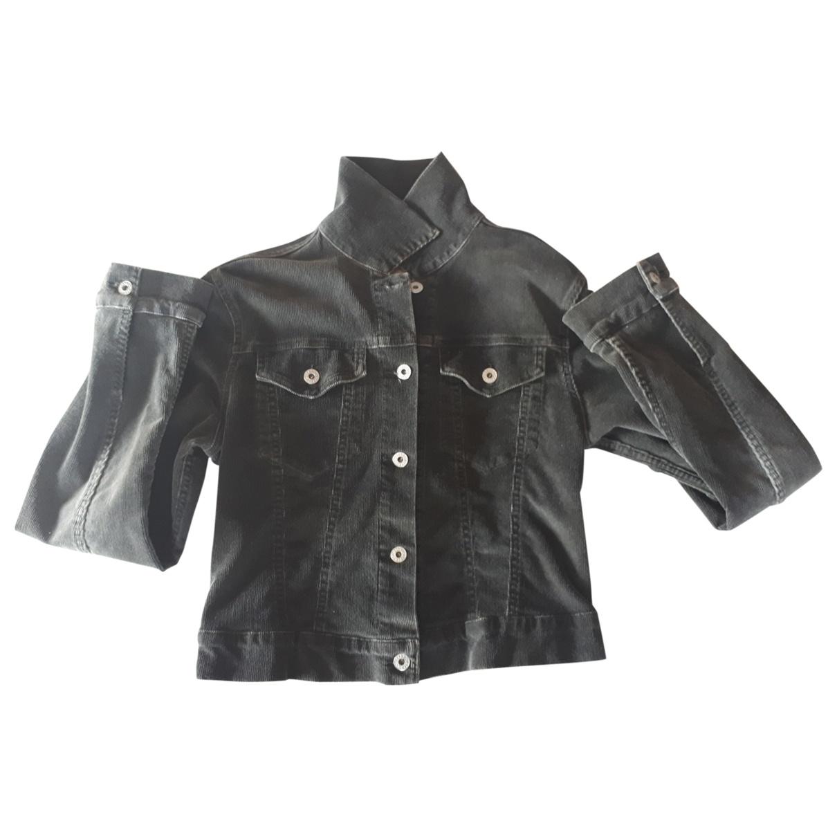 Replay \N Grey Denim - Jeans jacket for Women 42 IT