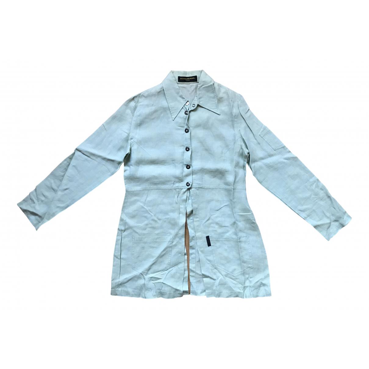 Sonia Rykiel - Top   pour femme en coton - vert