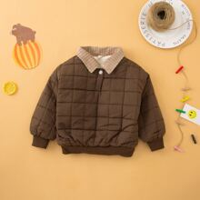 Toddler Boys Button Front Jacket