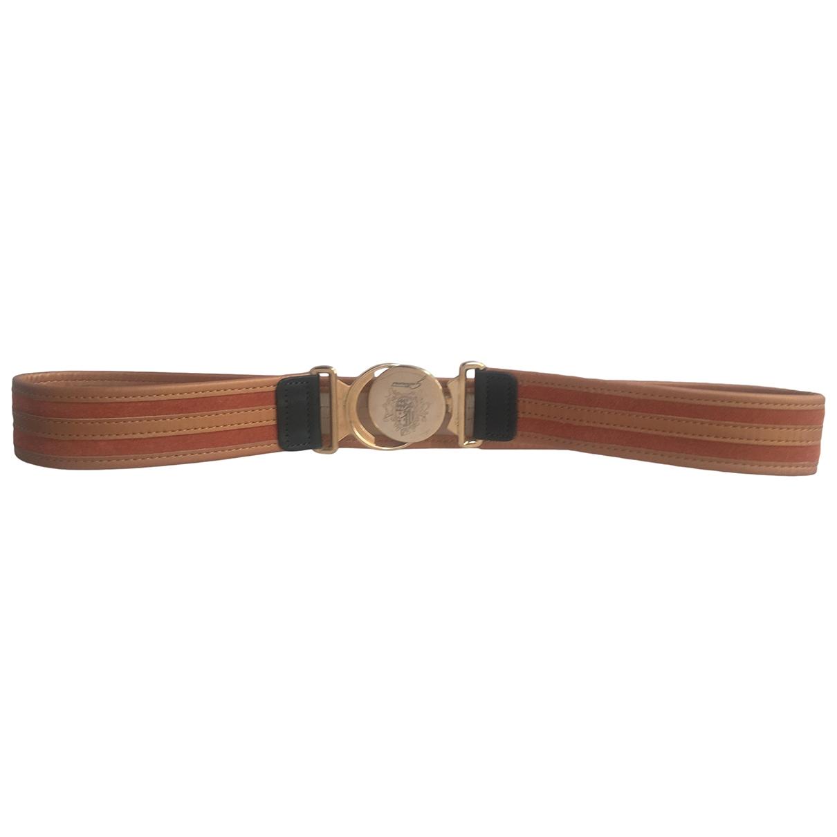 Non Signé / Unsigned \N Beige belt for Women 75 cm