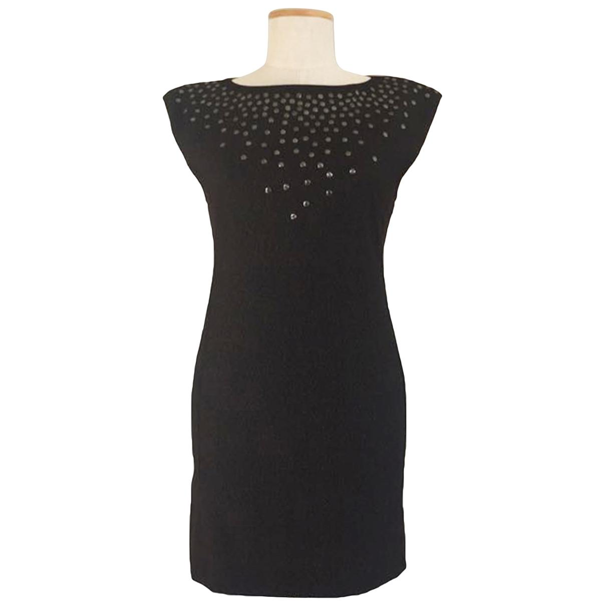 Patrizia Pepe \N Anthracite Wool dress for Women 40 IT
