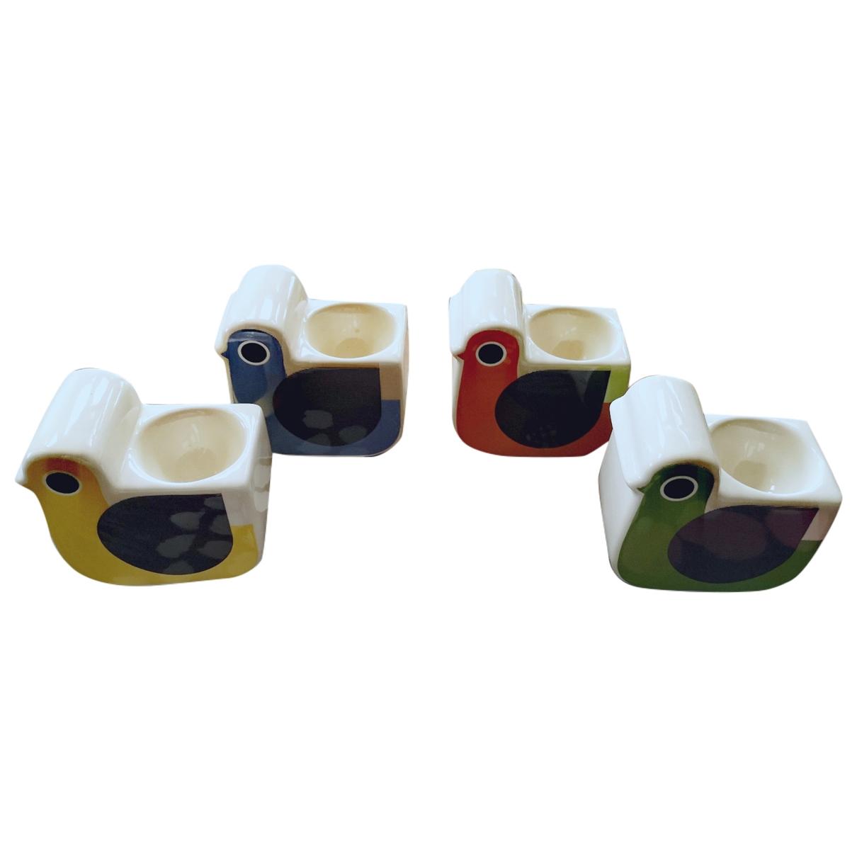 Orla Kiely \N Tischkultur in  Bunt Keramik
