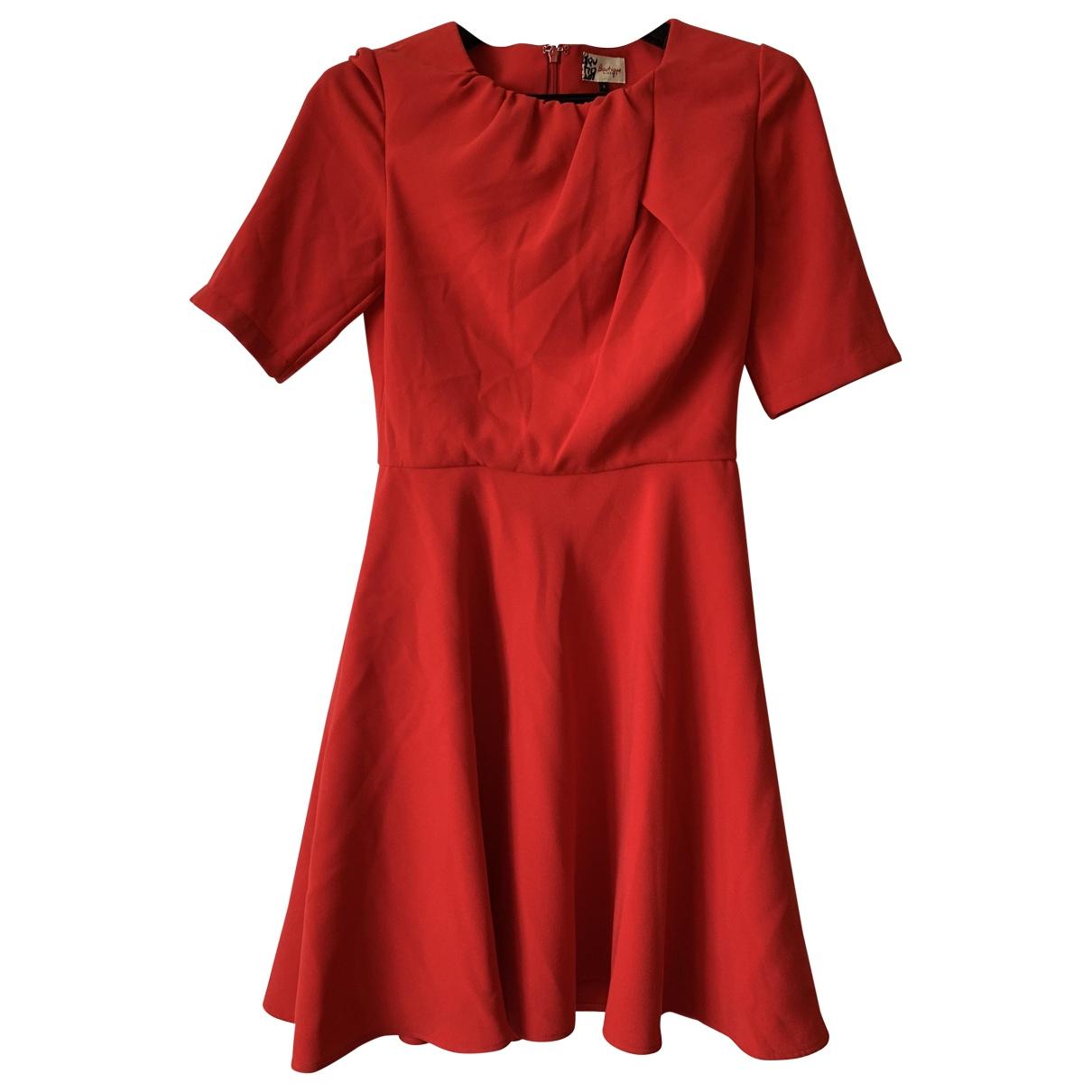 Jaeger \N Kleid in  Rot Polyester