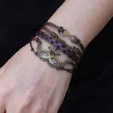 Mask Decor Braided Bracelet