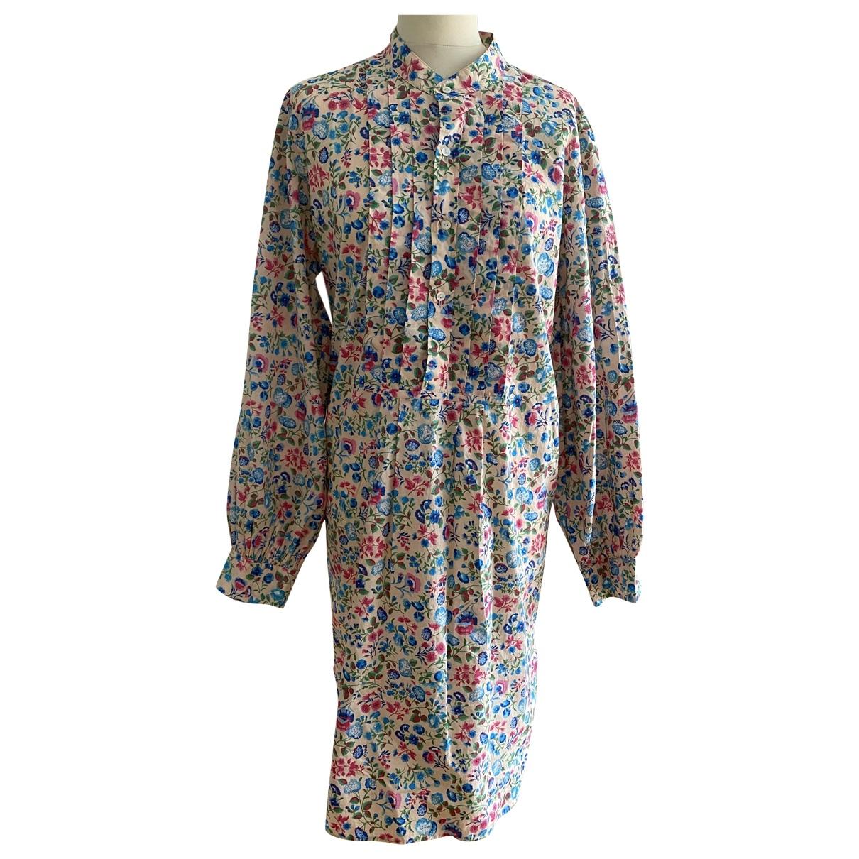 Polo Ralph Lauren - Robe   pour femme en coton - multicolore