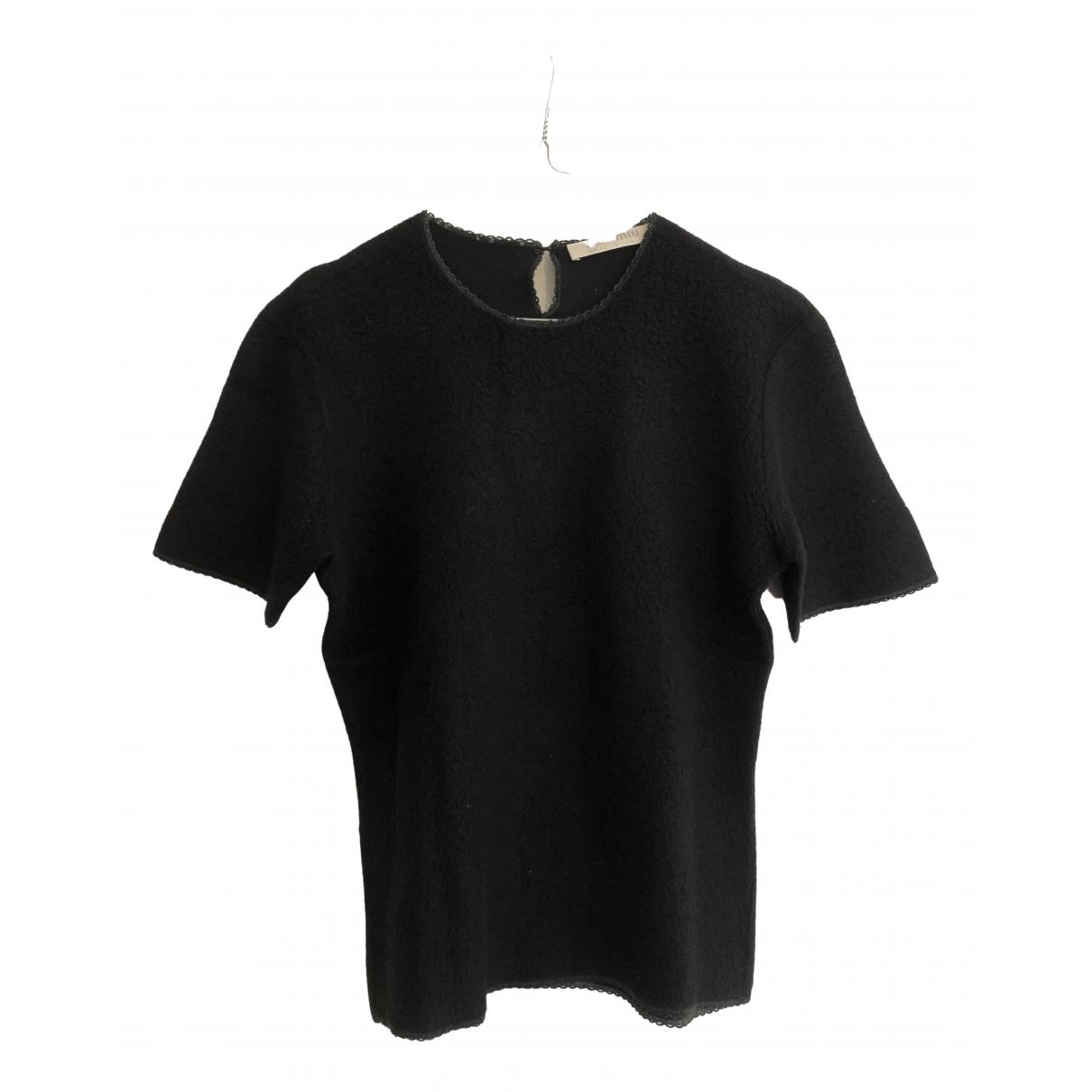 Camiseta de Lana Miu Miu