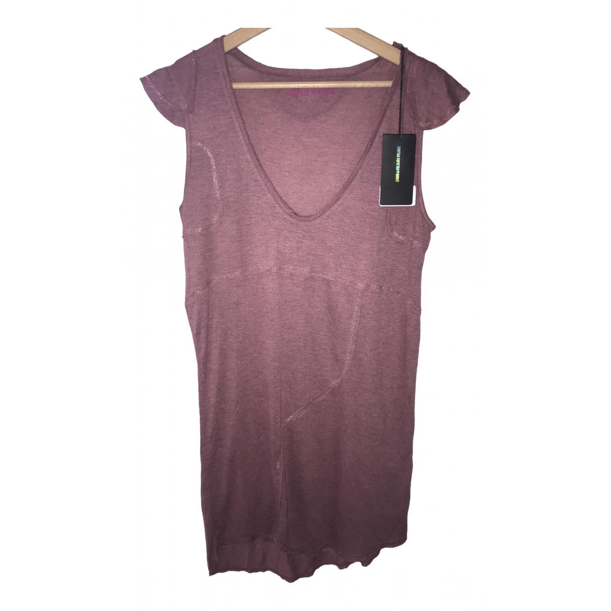 Zadig & Voltaire \N Purple dress for Women M International