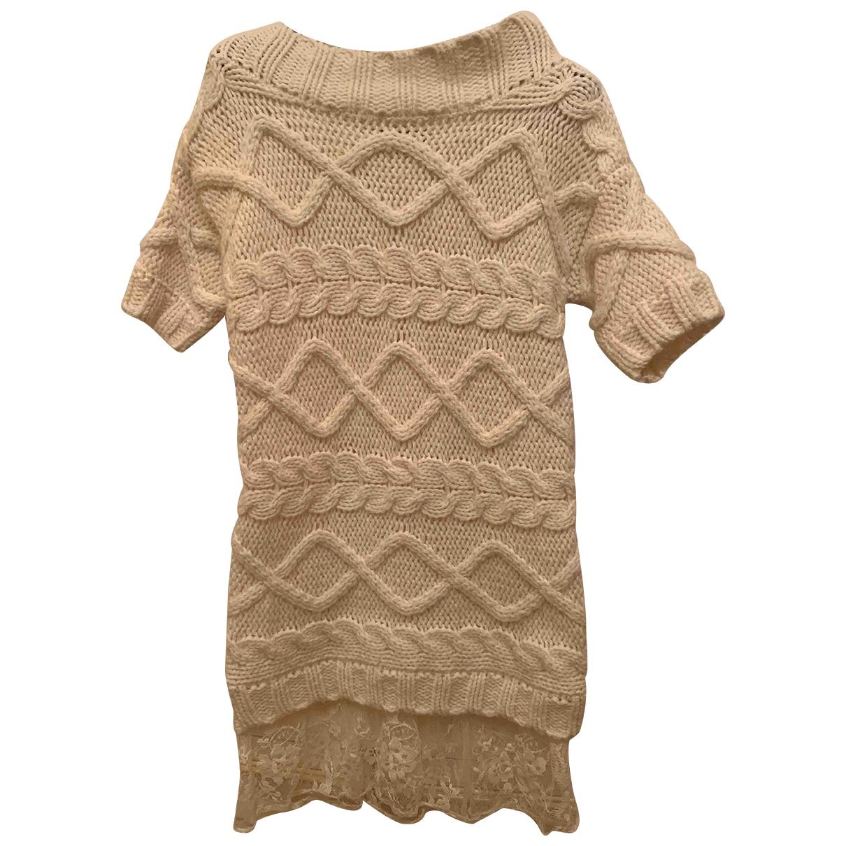 Twin Set \N Kleid in  Beige Wolle