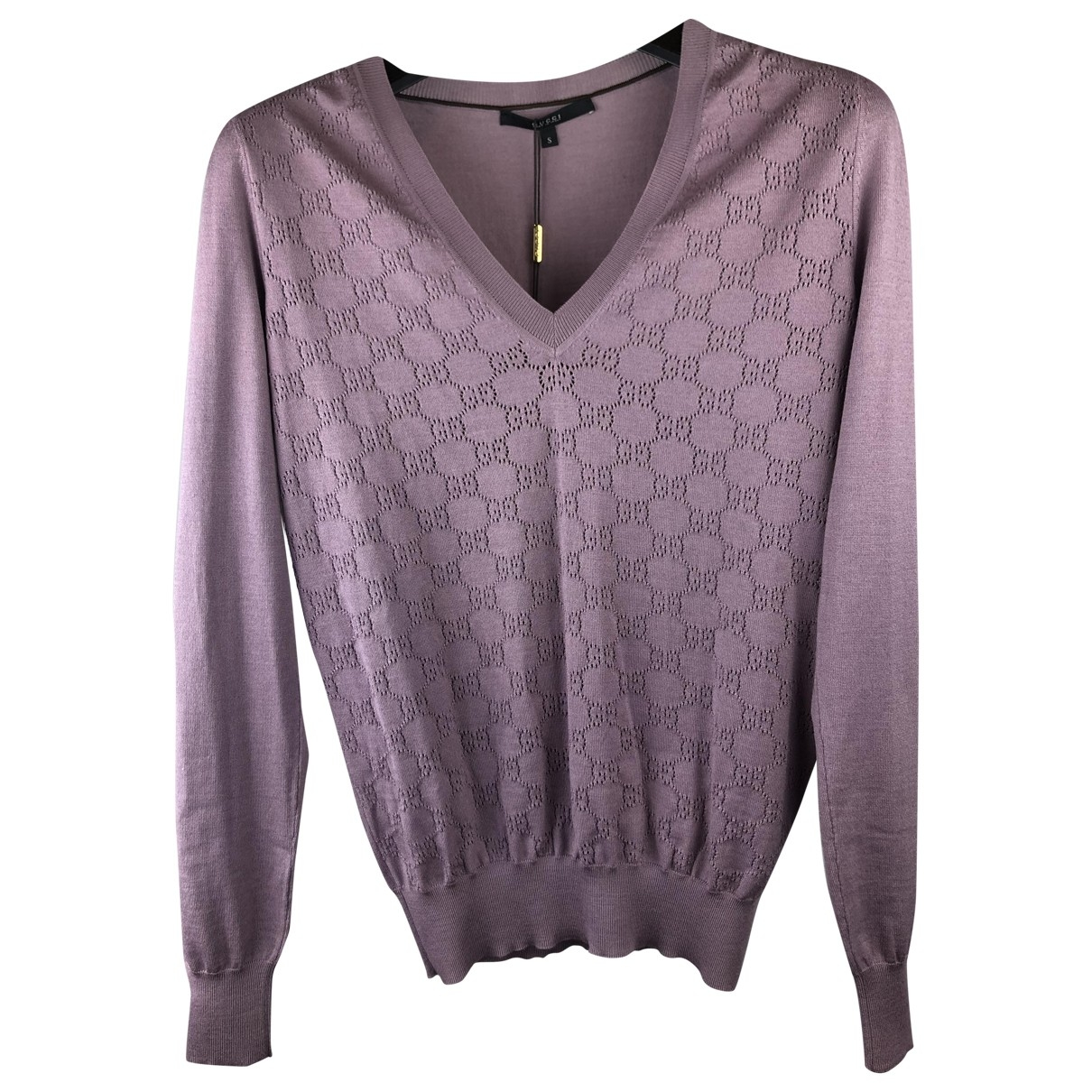 Gucci \N Pullover in  Lila Wolle