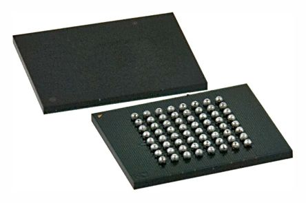 Cypress Semiconductor S70GL02GS11FHI010, CFI 2Gbit Flash Memory, 110ns, 64-Pin FPBGA