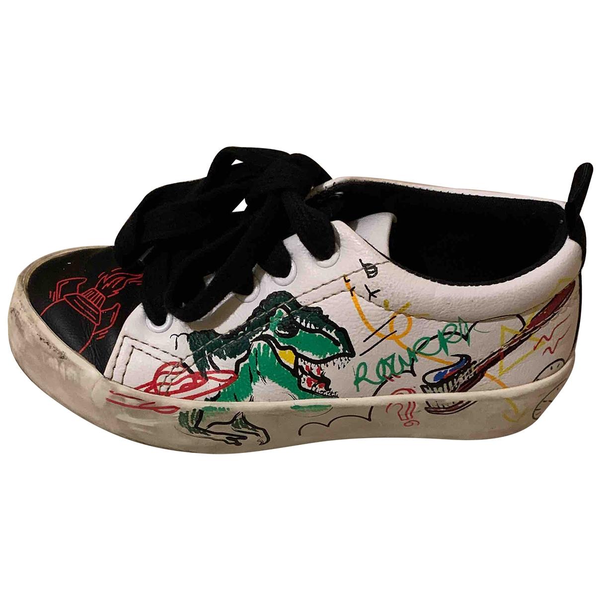 Zara \N Sneakers in  Weiss Kautschuk