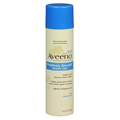 Aveeno Active Naturals Positively Smooth Shave Gel 7 oz by Aveeno