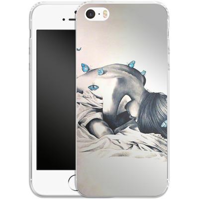 Apple iPhone SE Silikon Handyhuelle - Bodysnatchers von Kate Powell