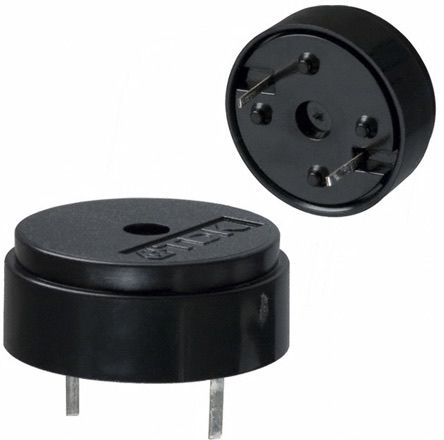 TDK 3 → 30 V dc PCB Mount High External Piezo Buzzer, Maximum of 4 kHz (10)