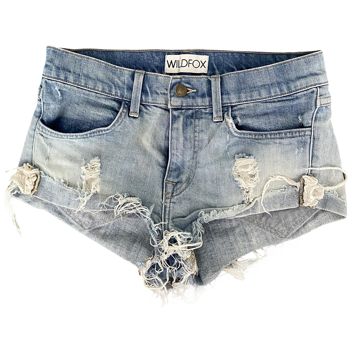 Wildfox \N Blue Denim - Jeans Shorts for Women XS International