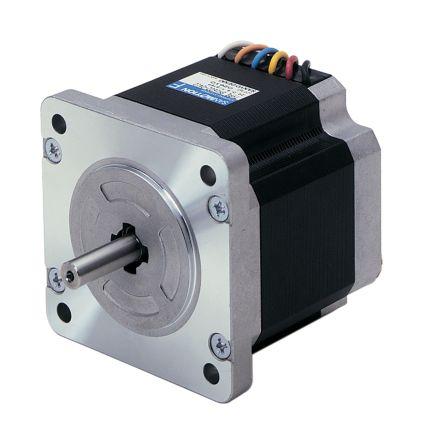 Sanyo Denki Bipolar Single Shaft Stepper Motor 1.8°, 9.0Nm, 100 V ac, 6 A, 4 Wires