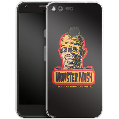 Google Pixel XL Silikon Handyhuelle - Monster Mash von caseable Designs