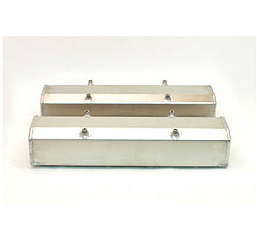 Canton Racing SBC Fabbed Aluminum Valve Covers with Hardware