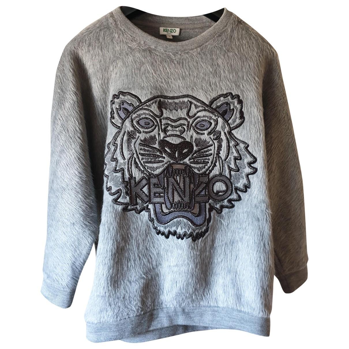 Kenzo \N Pullover in  Grau Synthetik