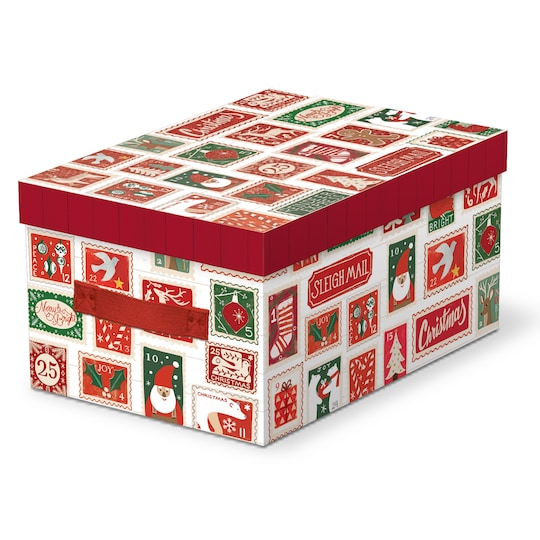 Large Postcard Decorative Box By Ashland® Christmas   Michaels®