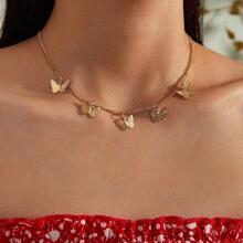Butterfly Design Choker