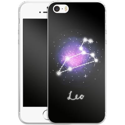 Apple iPhone SE Silikon Handyhuelle - LEO von Becky Starsmore