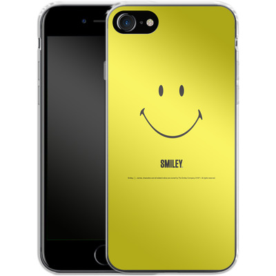Apple iPhone 7 Silikon Handyhuelle - Smiley All Over von Smiley®