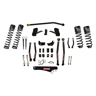 Skyjacker 6 Long Arm Lift Kit with Dual Rate Long Travel Coil Springs - JK60LKLT-SX