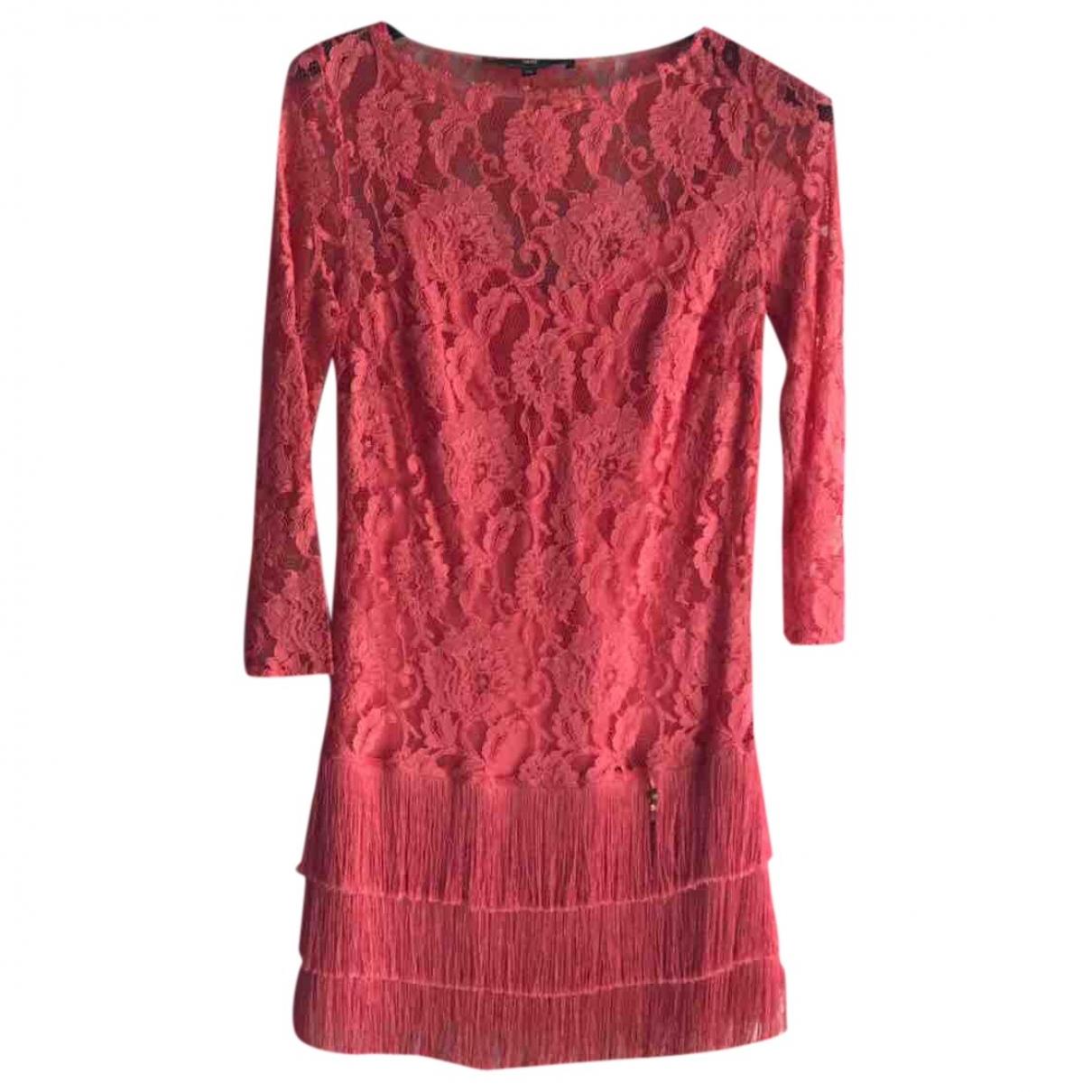 Elisabetta Franchi \N Pink Lace dress for Women 40 IT