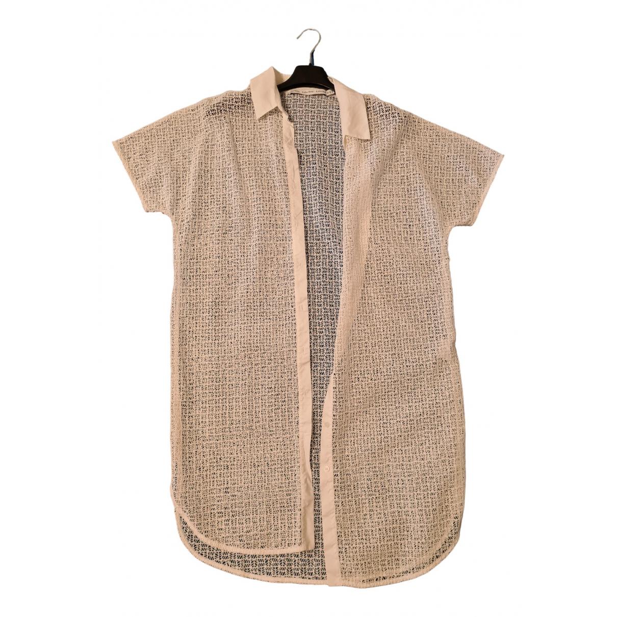 & Other Stories - Robe   pour femme en coton - blanc