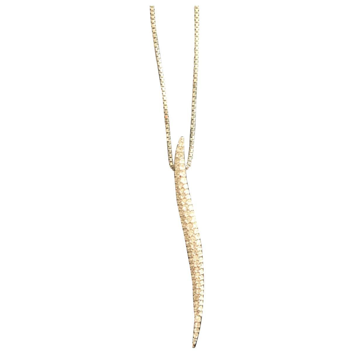 Swarovski \N Halskette in  Silber Kristall