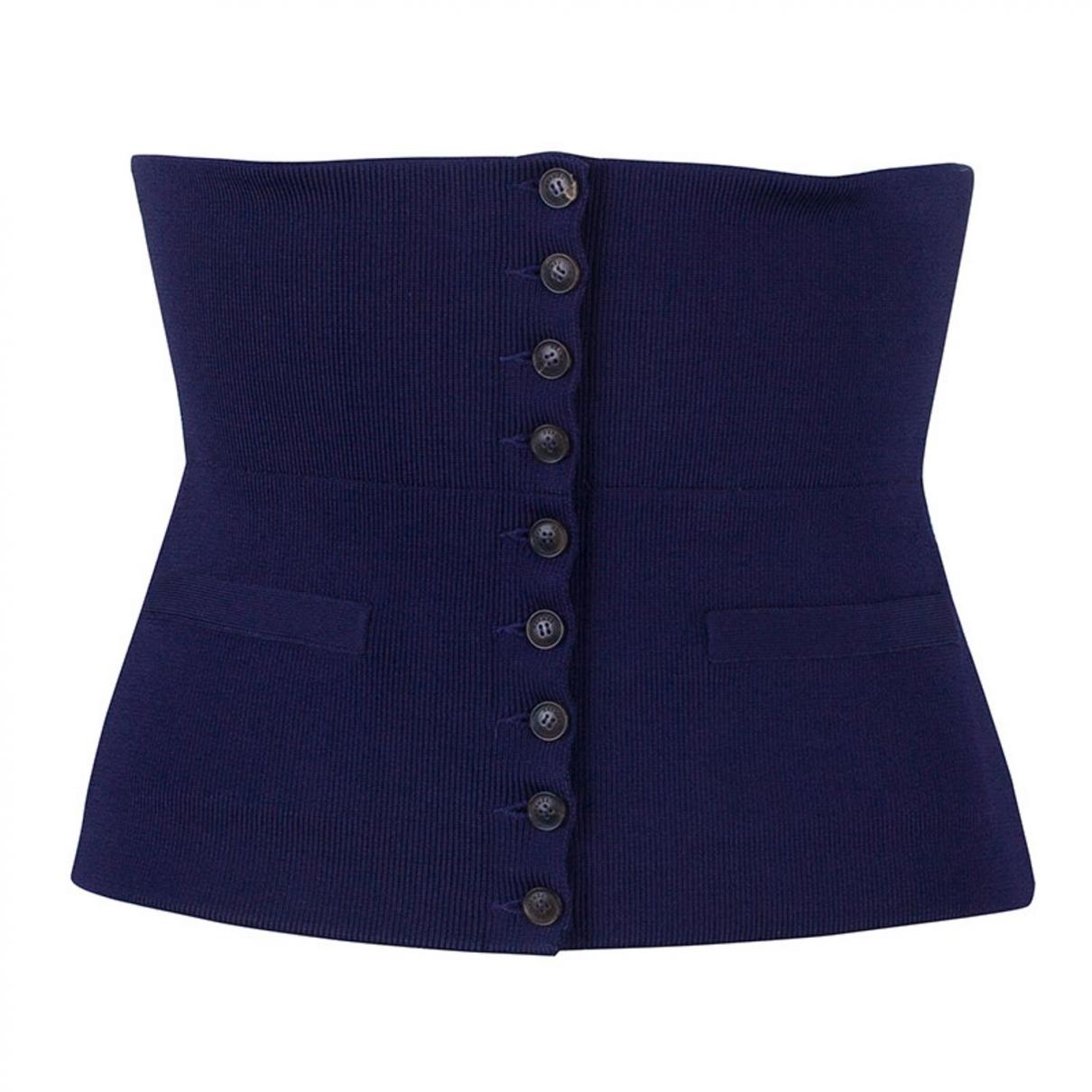 Hermès \N Purple Silk belt for Women S International