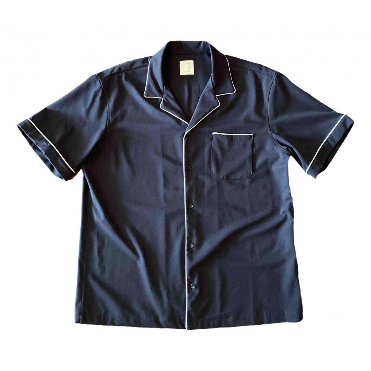 Sandro \N Hemden in  Schwarz Polyester