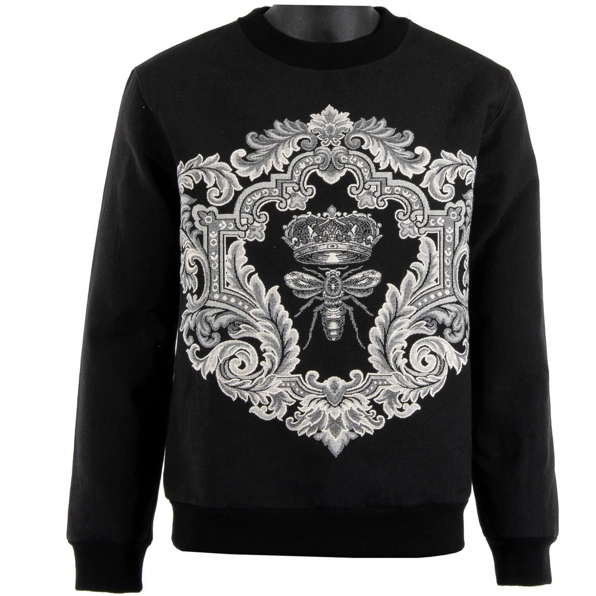 Dolce & Gabbana \N Black Cotton Knitwear & Sweatshirts for Men 48 IT