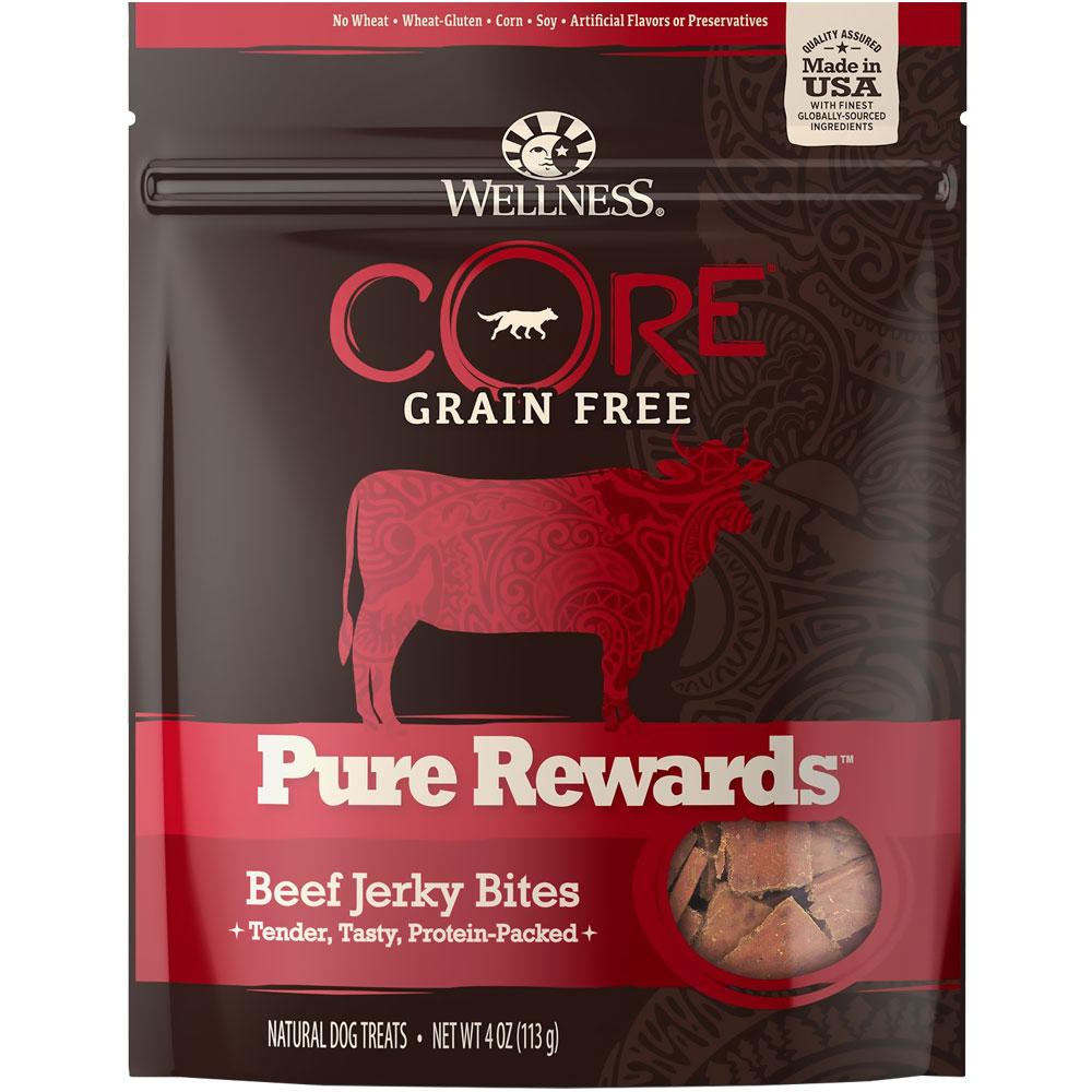 Wellness Core Pure Rewards -  Beef Jerky Bites (4 oz)